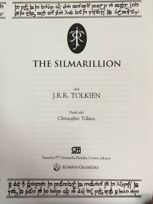 silmarillion bahasa indonesia