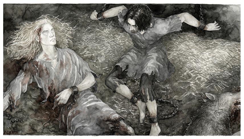 anke_eic39fmann_-_death_of_finrod_felagund