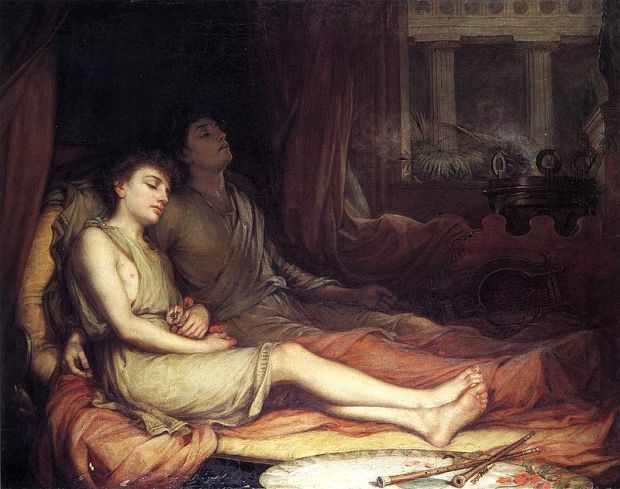 Waterhouse-sleep_and_his_half-brother_death-1874