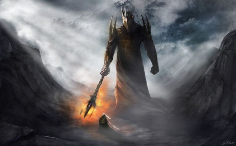 800px-Joel_Kilpatrick_-_Morgoth_and_Fingolfin