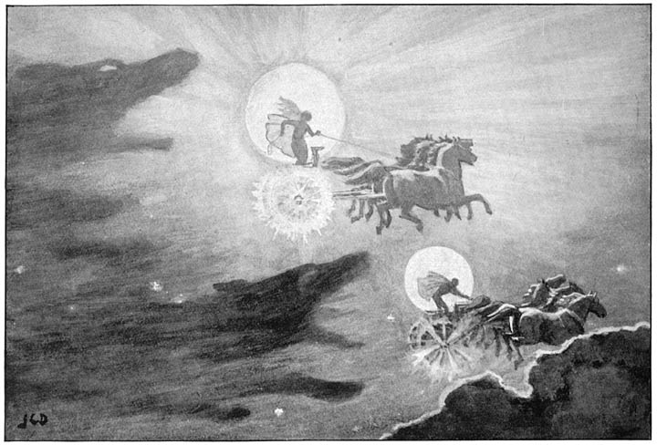 jc dollmann wolves pursuing sol and mani 1909